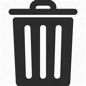 Basket, clear, delete, eraser, recycle bin, remove, trash ...
