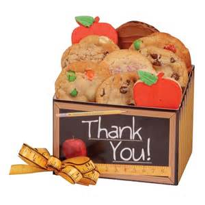 fall gift baskets thank you cookie box