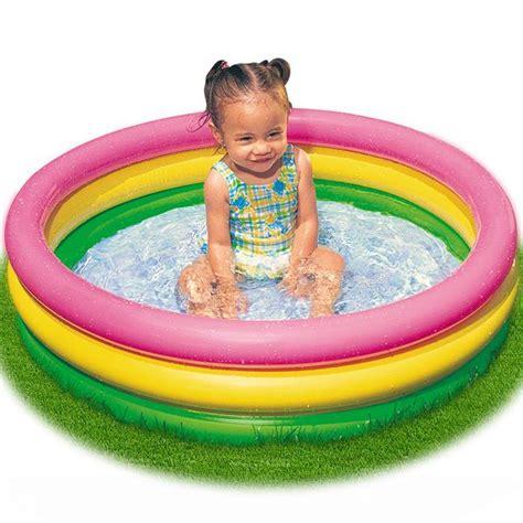 piscine gonflable enfant 86 x 25 cm achat vente pataugeoire cdiscount