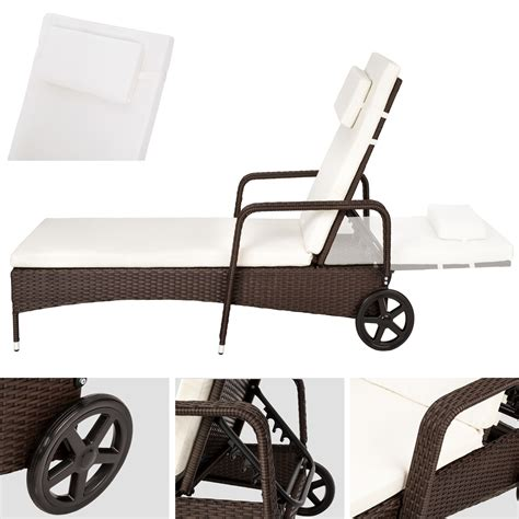 chaise transat chaise longue en aluminium bain de soleil de jardin poly
