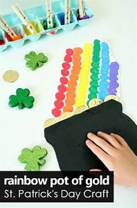 Rainbow Pot of Gold St. Patrick's Day Craft - Fantastic ...