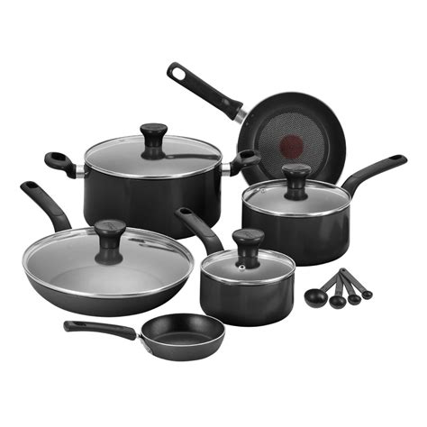 tefal pieces pan pot set frypan frying cookware kitchen cooking stainless steel ebay
