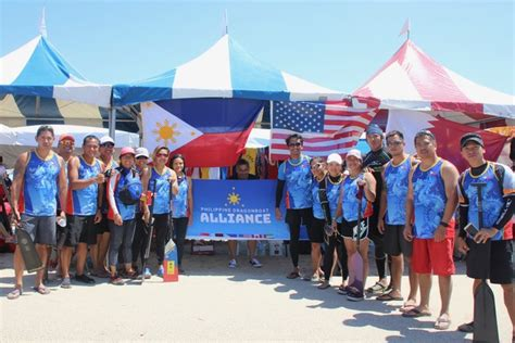 Dragon Boat Festival 2017 Long Beach by Filipino Rowers Bag Silver Medal Of The 2017 Long Beach