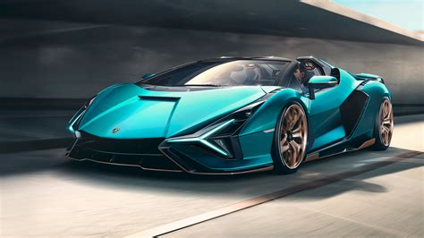 Lamborghini Sián Roadster revealed with 808bhp electrified ...