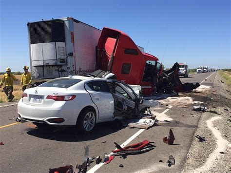 Merced County Big Rig Crash Ends In Fatality On Highway