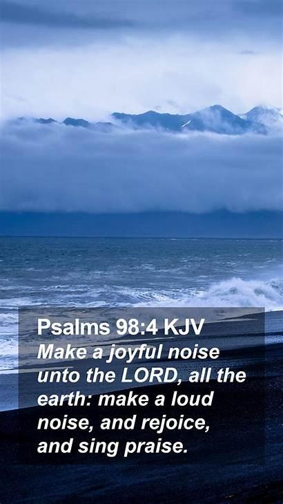 Psalms Kjv Mobile Phone Joyful Noise Scripture