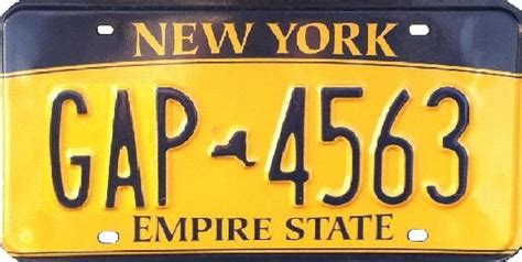 Vanity Plates Ny by Vehicle Registration Plates Of New York Wikiwand
