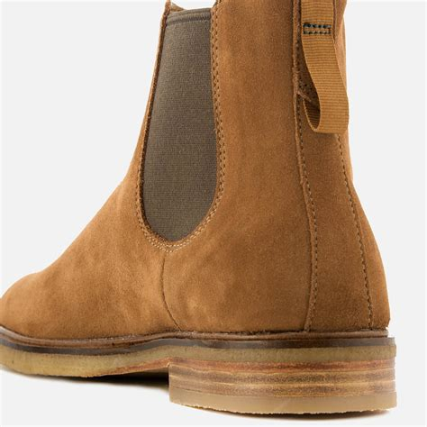 Clarks Clarkdale Gobi Suede Chelsea Boots in Tan (Brown ...