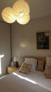 Ikea Luminaire Chambre : chambre 2 photo 2 7 fabrication maison de mon lustre ~ Teatrodelosmanantiales.com Idées de Décoration