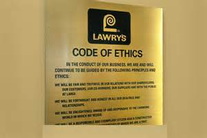 Business Code of Ethics Examples