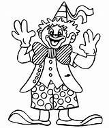 Clown Coloring Pages Cute Krusty Kid Printable Evil Getcolorings Farsang Getdrawings Mentve Innen Dentistmitcham sketch template