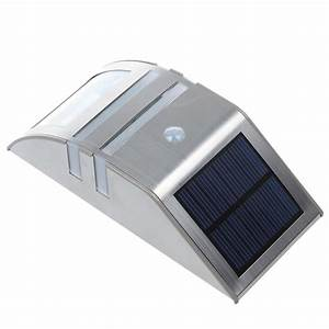 led solar powered stainless steel pir motion sensor light With outdoor motion lights stay on