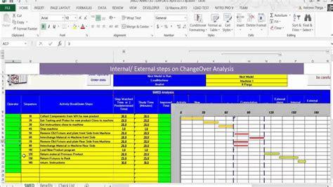 smed analysis   excel worksheet sp youtube