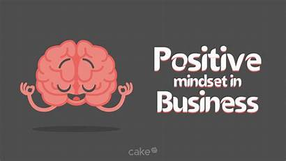 Positive Mindset Keep Business Banner Ways Hr