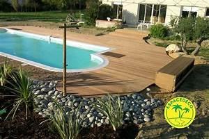 Tour De Piscine Bois : espaced co effectue la cr ation de votre tour de piscine ~ Premium-room.com Idées de Décoration