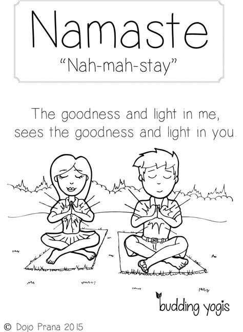 yoga colouring pages google search kids yoga