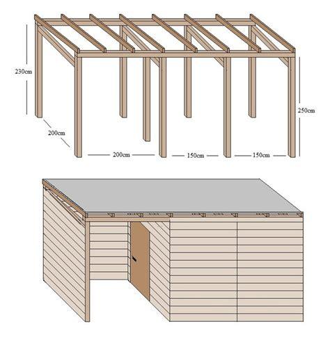Gartenhaus Selber Bauen Holz Bauanleitung by Die 25 Besten Ideen Zu Selber Bauen Unterstand Auf