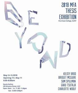 BEYOND - Art+Design's MFA Thesis Exhibition at Equity ...