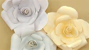 oversize paper roses step by step diy craft how tos With paper flower templates martha stewart