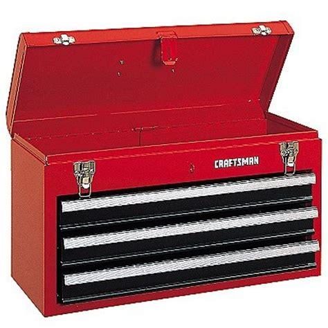 craftsman 3 drawer tool box craftsman 3 drawer metal portable chest toolbox tool