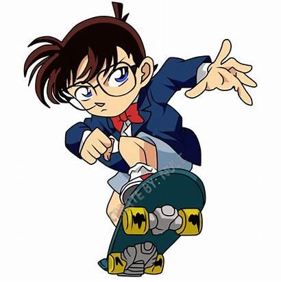 Conan Detective Anime Edogawa Kartun Render Run