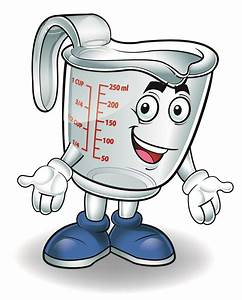water in measuring cup clipart - Clipground