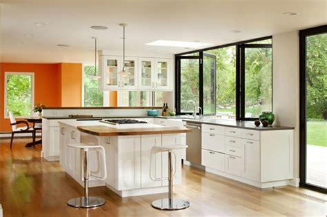 cuisine ouverte design cuisine d intérieur astucieusement transformée en cuisine