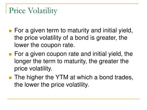 25618 Bond Price Volatility And Coupon Rate by Ppt Bond Price Volatility Powerpoint Presentation Id