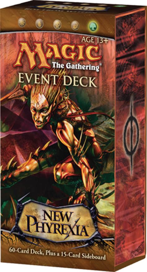 new phyrexia event deck war of attrition mtg realm nph intro packs