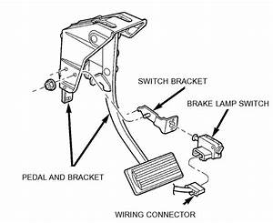 How Do I Replace A Brake Light Switch On A 2003 Dodge