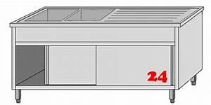 Spültisch Mit Unterschrank : afg sp ltisch mit untergestell vla2207l markenprodukt der firma afg berlin gewerbesp le ~ Frokenaadalensverden.com Haus und Dekorationen