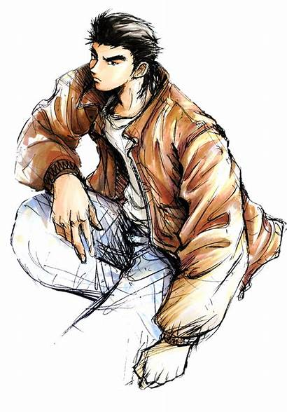 Shenmue Character Ryo Hazuki Kenji Miyawaki Arts