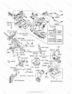 Kawasaki Motorcycle 2011 Oem Parts Diagram For Chassis Electrical Equipment