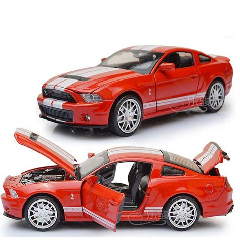 2018 132 Scale Alloy Diecast Car Model Toys Ford Mustang