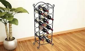 Prabu Ira Casier Vin 21 Bouteilles Mtal Noir
