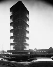 Johnson Wax Building Frank Lloyd Wright Tower