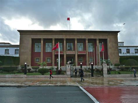 le siège du parlement marocain rabat maroc flickr