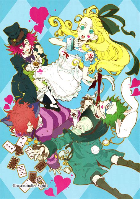 mad hatter alice  wonderland zerochan anime image board