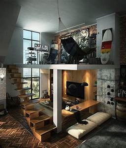 Loft, Design, Inspiration