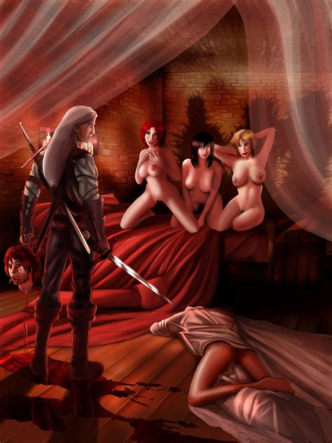 The Witcher By Raulovsky Hentai Foundry
