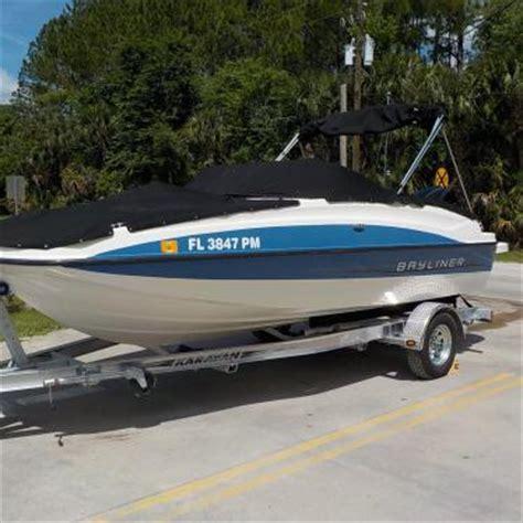 bayliner 190 deck boat series 2013 for sale for 20 900