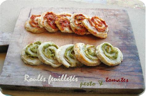 roul 233 s feuillet 233 s pesto tomates cuisine et d 233 pendances