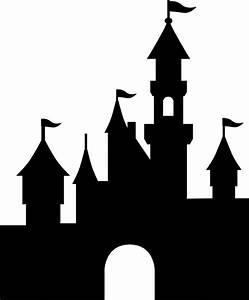 Disney Castle Silhouette Clip Art (42+)
