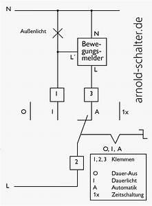 Bewegungsmelder Mit Schalter Für Dauerlicht : schaltbild arnold schalter ~ Orissabook.com Haus und Dekorationen