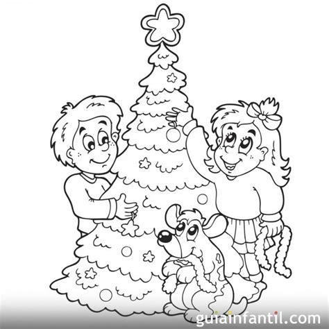 imprimir 193 rbol de navidad para pintar y decorar dibujos