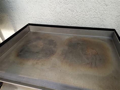 nettoyer une plancha inox nettoyage d une plancha en acier inoxydable
