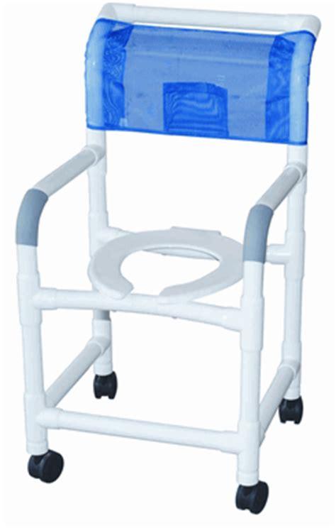 pvc shower chair by mjm 18 quot wide 3 quot rust