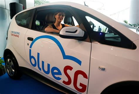 Singapore's Electric Car-sharing Program Hits The Road