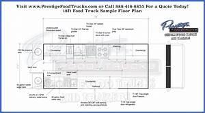 Food Truck Floor Plan Samples