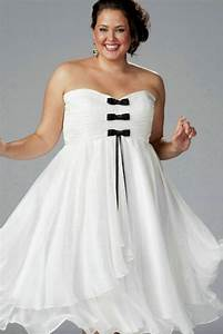 Tea length strapless ruched chiffon lace up white plus for Formal dress for wedding plus size